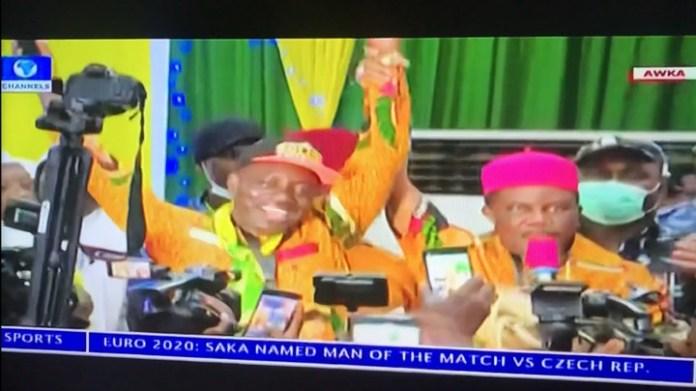 Former CBN Governor, Charles Soludo Wins APGA Governorship Primaries