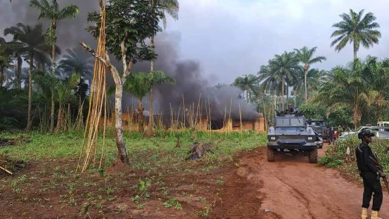 Police Overrun Three IPOB/ESN Camps In Imo, Kill Several Members (Photos)
