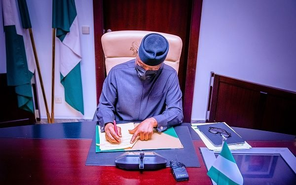 Osinbajo Chairs The Virtual NEC Conference