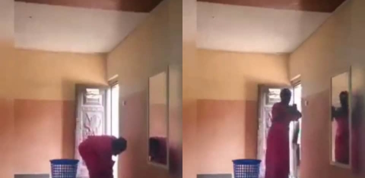 Woman Caught Stealing Money From A Church's Offering Basket (Watch Video)