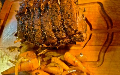 Slow-Cooked Beef Pot Roast with Winter Root Vegetables