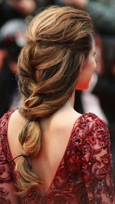 CANNES, FRANCE - MAY 18: Cheryl Cole (hair detail) attends the Premiere of 'Jimmy P. (Psychotherapy Of A Plains Indian)' at Palais des Festivals during The 66th Annual Cannes Film Festival on May 18, 2013 in Cannes, France. (Photo by Dominique Charriau/WireImage)
