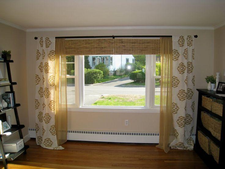 windows treatment ideas for living room