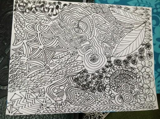 Zen Doodle Example 2