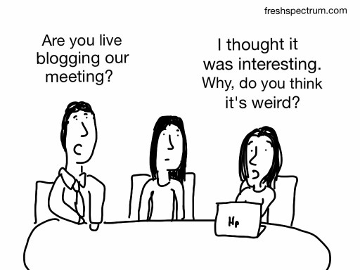 Live Blogging a Meeting