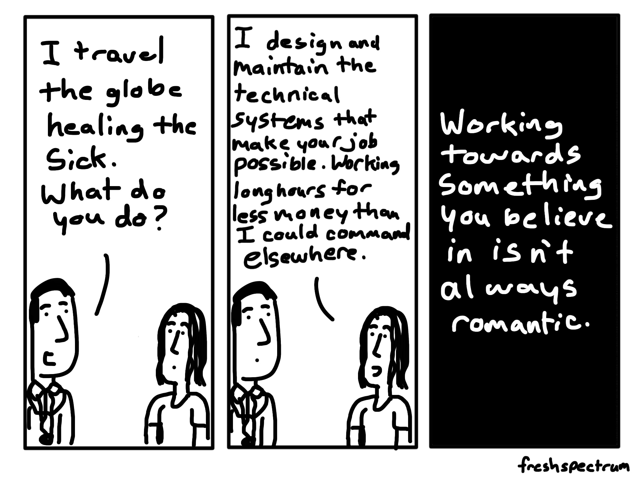 Something you believe in cartoon