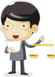 cartoon lawyer