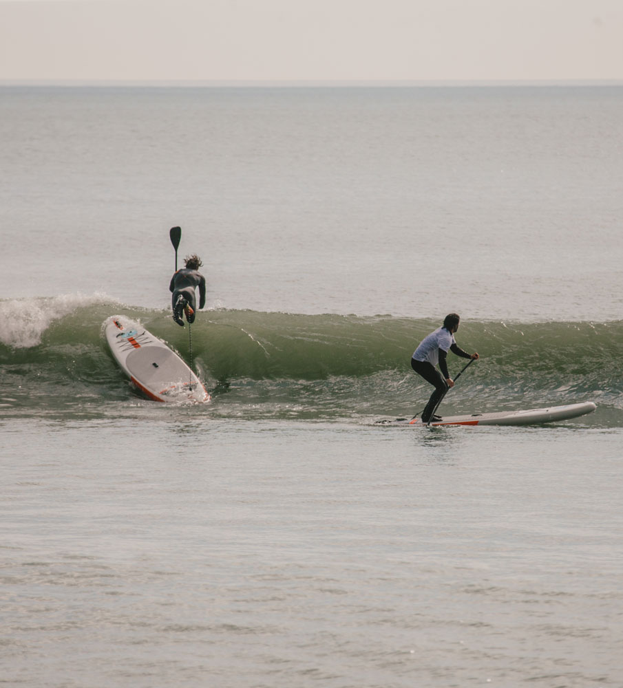 From flat water to SUP surfing