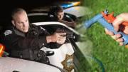 Fresno Police Shoot Man Holding Water Nozzle Sprayer
