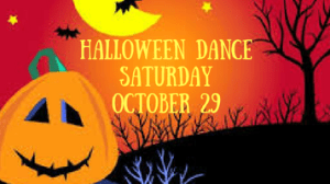 Last Call for Halloween Dance Tickets! Place Your Order by Friday, Oct. 21.