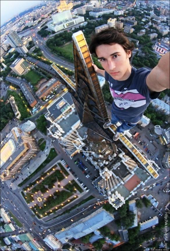 Kirill Oreshkin. El selfie más peligroso del mundo.