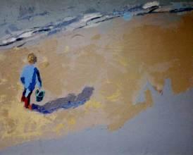 Tableau Claire Fresson : Le seau vert