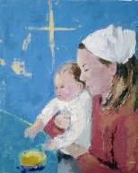 Vierge et son enfant