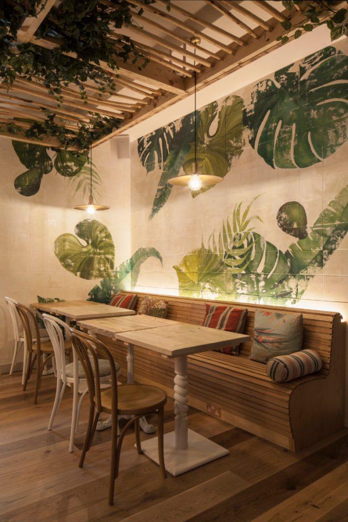 timber banquet seating