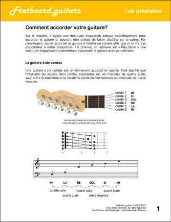Comment accorder votre guitare ?