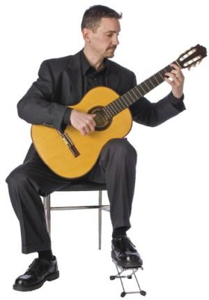 La bonne posture à la guitare