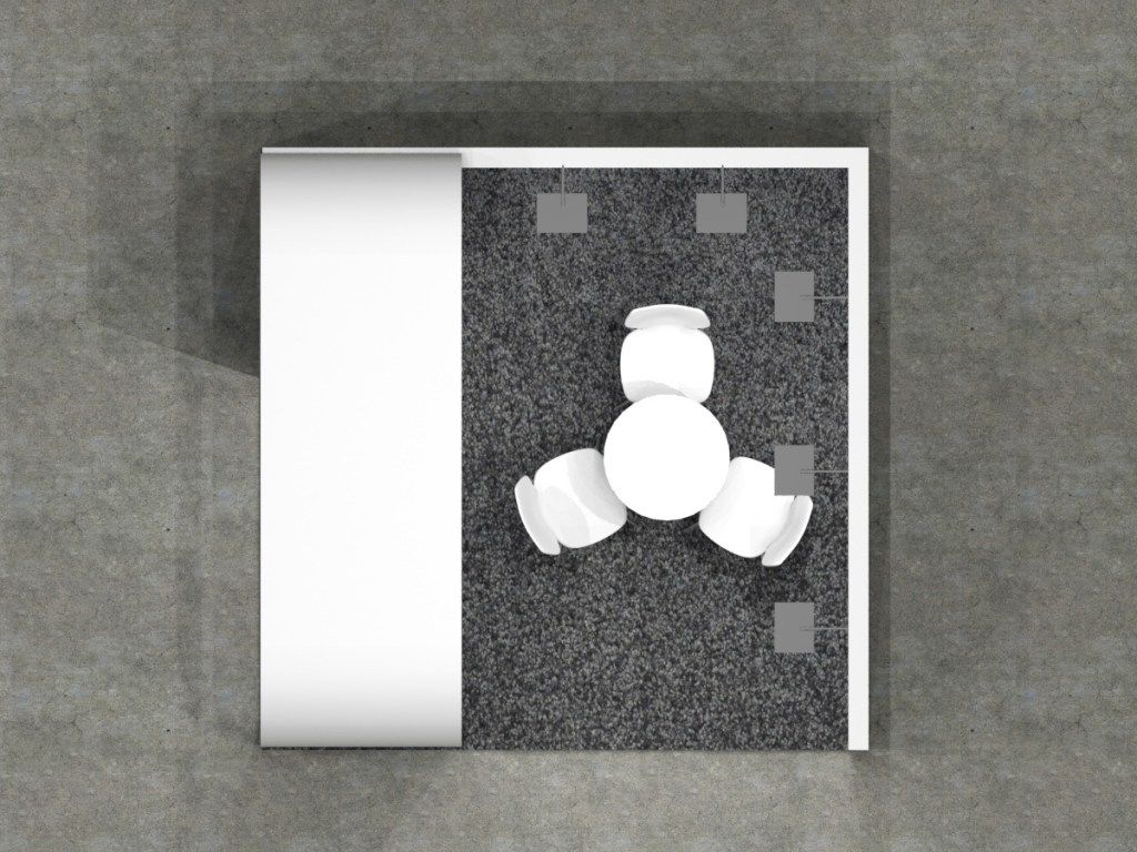 3x3 - Side Tower 2 Floor Plan