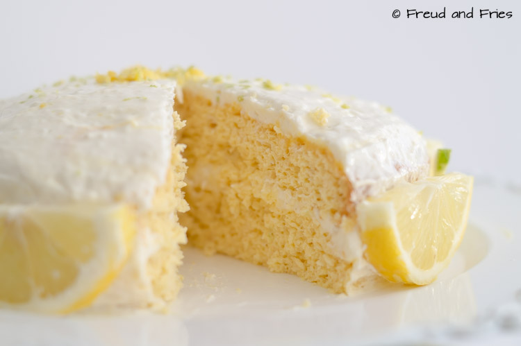 Citrus sponge cake | Freud and Fries
