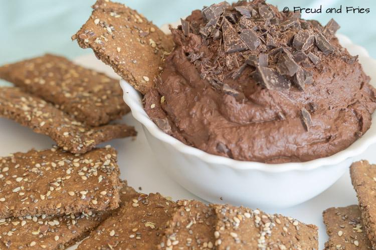 Gezonde brownie dip   Freud and Fries