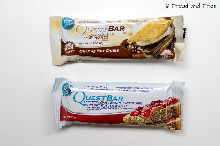 Review- Quest bars [PB&J en Smores] | Freud and Fries