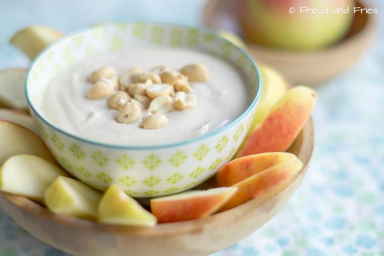 Slanke yoghurt-pindakaas dip | Freud and Fries-2