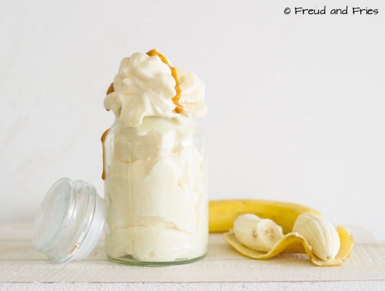 Banoffee Protein Fluff | Freud and Fries
