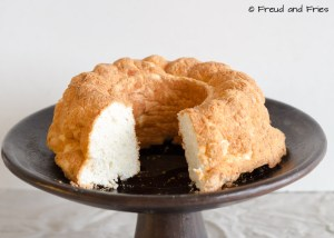 High protein angel food cake | Freud and Fries