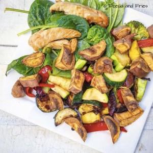 Zoete aardappel, kip en groenten | Freud and Fries
