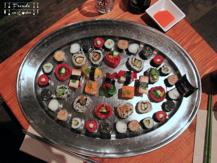 Pirata - Fish free Sushi - Vegan in Wien - Freude am Kochen