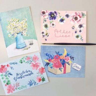 Paruspaper Postcards