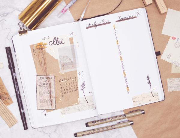Bullet Journal Setup Mai