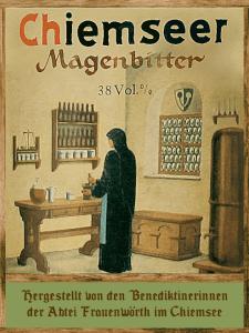 Magenbitter-Etikett