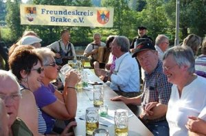 Begrüßung der Braker in Zwiesel