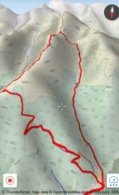 Karpaten Wandern Route