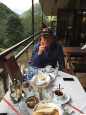 Frühstück im Retezat Nationalpark