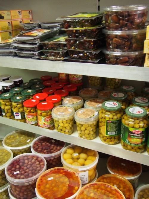 Oliven-Vielfalt