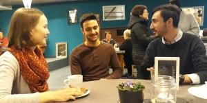 Patenschaft: Julia, Mohammed und Phillip