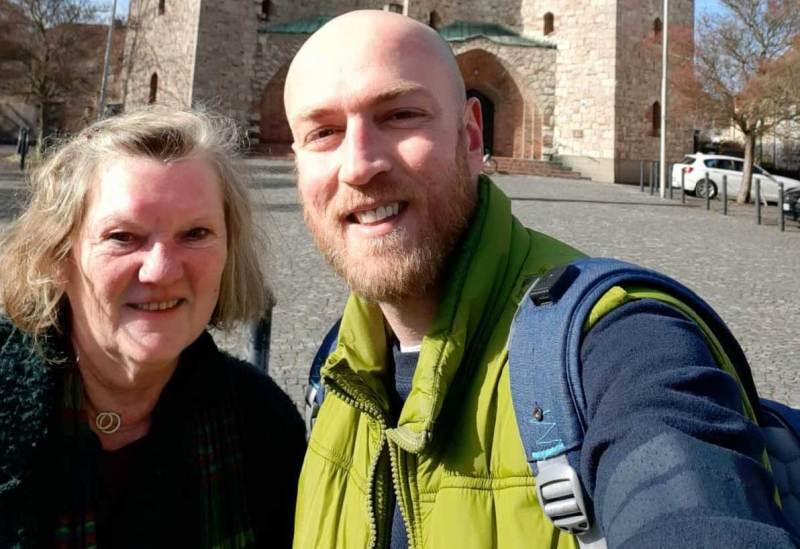 Sprachcafe to go: Sprachtandem Anette und Jorges unterwegs in Bamberg