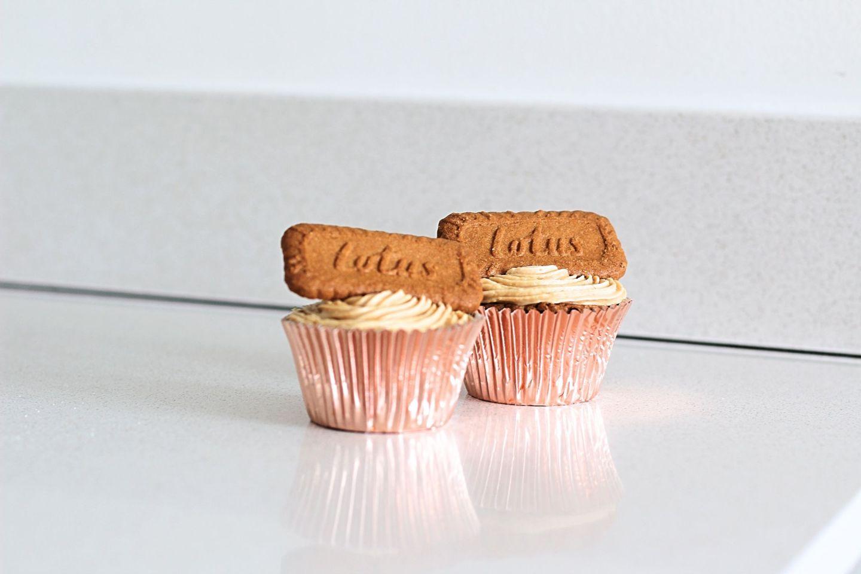 Incredible Lotus Biscoff Cupcakes   Food   FREYA WILCOX