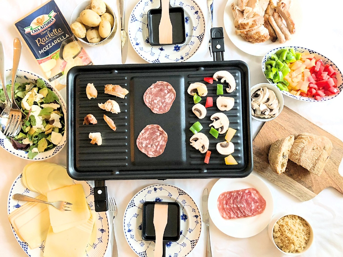 Hosting a Raclette Dinner Party | FOOD | FREYA WILCOX