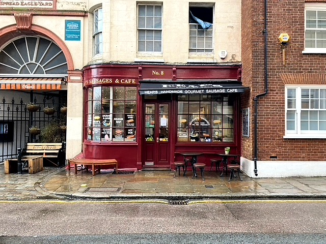 Review: Breakfast at Heap's Sausages, Greenwich | FOOD | FREYA WILCOX