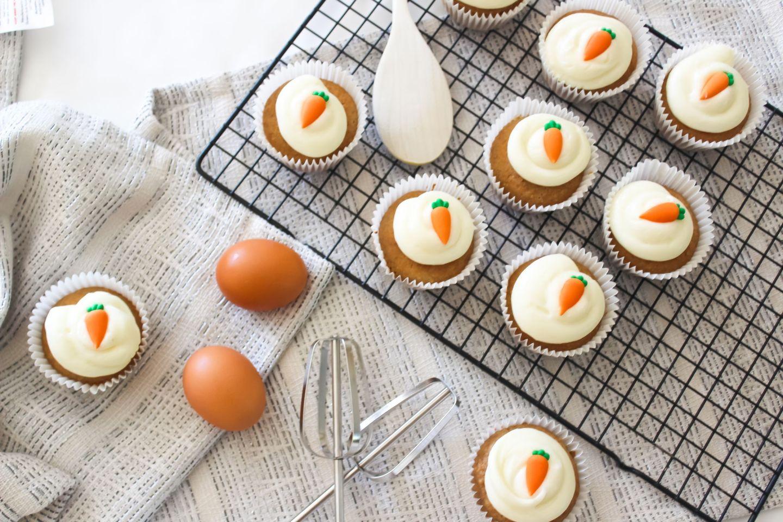 Recipe: Carrot Cake Cupcakes | FOOD | FREYA WILCOX