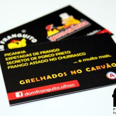 Cartões Comerciais – Dom Franguito