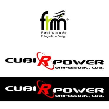 Logotipo Cubi R Power
