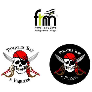 Logotipo Pirates Bay & Friends