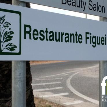 Sinalética de Estrada – Restaurante Figueiral