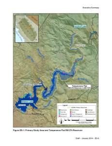 TEMPERANCE FLAT RESERVOIR PROPOSAL – Friant Waterline