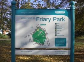FRIARY PARK SIGN 2 NOV 2009 (David Berguer) 2
