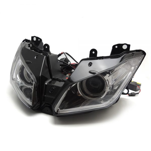 Dual Headlight Motorcycle