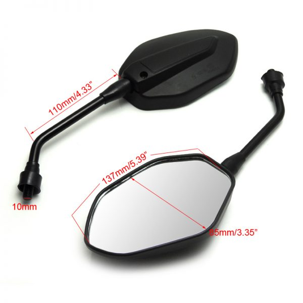 Adjustable Motorcycle Mirrors